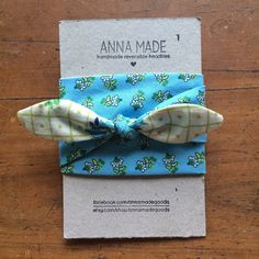 pretty blue and green floral adult reversible by annamadegoods