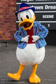 Donald Duck - Roger Rabbit's Toontown Dream