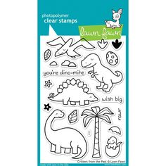 LAWN STAMPS CRITTERS FROM THE PAST - TheCraftyShop