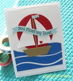 stamping up north with laurie: Lawn Fawn's Float My Boat