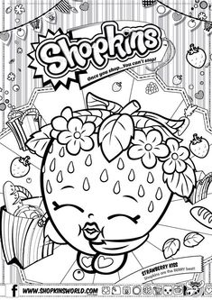 shopkins coloring pages - Google Search