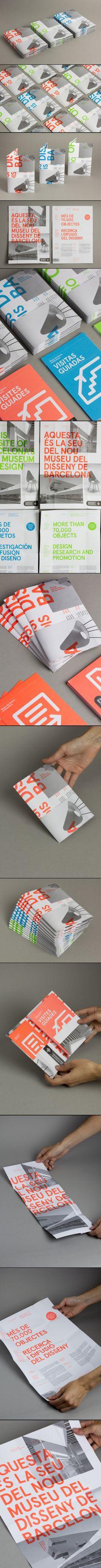 DHUB Leaflet - Print, Identity - 06/2013 - created via http://pinthemall.net