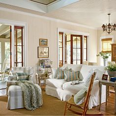 10 Steps to Classic Cottage Style | Keep it Casual | CoastalLiving.com