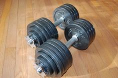 Pro Iron Adjustable Dumbbells with Gloss Finish and Secure Fit Collars, 105 LBS Sets (Pair) Pro Iron http://www.amazon.com/dp/B00B5WHBTK/ref=cm_sw_r_pi_dp_Dl7yub0QKSAY4