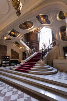 Salons France-Amériques, l'escalier monumental!