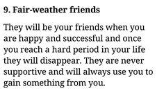Fair Weather Friends, Evil Person, When You Are Happy, Success, Math, Life, False Friends, Math Resources, Early Math