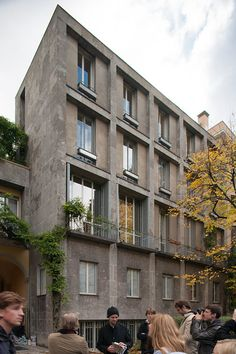 , Vito Latis Structure is really a Pricey Area! New Classical Architecture, Arch Architecture, Concrete Architecture, Classic Architecture, Bauhaus, Design Thinking Process, Social Housing, Art Deco, Brick Building