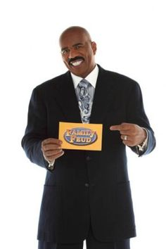 Learn how to become a contestant on the classic, long-running game show Family Feud, hosted by Steve Harvey. Family Feud Game Show, Family Reunions, Steve Harvey Quotes, Fashion Line, Women's Fashion, Vintage Games, Man Humor, Comedians, Movies And Tv Shows