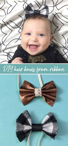 Learn how to make big bows from ribbon or leather hair bows Tulle Hair Bows, Big Hair Bows, Big Bows, Fabric Strips, Fabric Ribbon, Ribbon Bows, Personalized School Supplies, Lunch Box Set, Accordion Fold