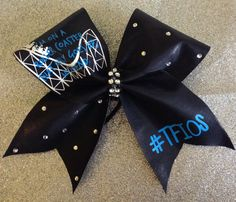 The Fault in our stars bow by DaisyBowtique on Etsy
