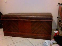i just received this exact hope chest from a family member. i love it! now to refinish it....