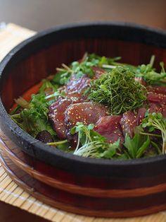 【ELLE a table】野菜たっぷり洋風漬け丼レシピ|エル・オンライン