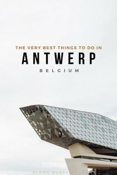 Planning a city break to the Belgian creative and cultural hub of Antwerp? Our guide will have you covered. Full of inspiration on where to stay, how to get around, plus all of our favourite things to do in Antwerp. Europe Travel Tips, Travel Advice, Travel Guides, Travel Goals, European Travel, Travel Destinations, European City Breaks, Antwerp Belgium, Tips & Tricks