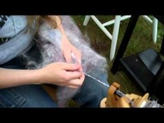How to Spin a Wool Batt into Yarn