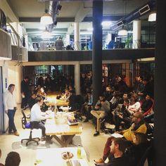 Los emprendedores son los que dan resultados. #Startupsnigths