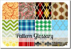 Pattern Glossary