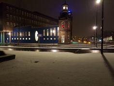 Sneeuw in Almelo.