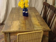 Farmhouse Counter Height Table 72 X 30 X 30 By DriftwoodTreasures