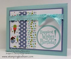 Happiest Birthday Wishes - SU (and Sweet Shop DSP)