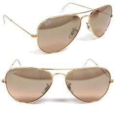 Ray-Ban® RB3025 AviatorTM sunglasses encompass the shape that started it all. The Ray-Ban Aviator is the brand staple originally designed for the U.S. military fighter pilots in 1937. Ray-Ban Aviator sunglasses have a timeless look with the unmistakable teardrop shaped lenses. This style allowed Aviators to quickly spread beyond their utility, becoming popular among celebrities, rock stars, and citizens of the world alike...