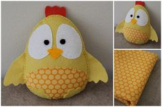 Boy chick with yellow belly by Katia Donohoe, via Flickr