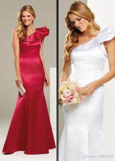 e51e6b8e72c8 Wholesale Bridesmaid Dress - Buy LK 2014 Modern One Shoulder Flouncing  Mermaid Bridesmaid Dresses Sheath High