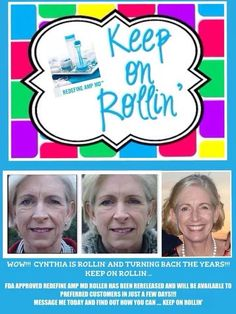 Roll back the hands of Father Time! Rodan + Fields is changing skin and changing lives! Start today!