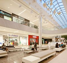 Rose Court at West Edmonton Mall in Edmonton, AB - designed by GH+A, in collaboration with Brinsmead Kennedy Architecture