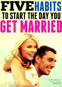 I LOVE these marriage tips! 5 habits you should start the day you get married to start your marriage off right. Best start to family life starting on your wedding day with some simple marriage tips for a happier, healthier home life. Healthy Marriage, Successful Marriage, Marriage Relationship, Marriage And Family, Marriage Advice, Marriage Help, Healthy Relationships, Family Life, Happy Marriage Quotes
