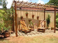Ferro, madeira, bambu, sisal: quais os materiais de móveis rústicos | Webrusticos