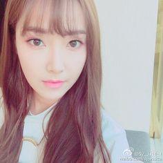 150822 Jessica @ weibo。(via Sy_Jessica)『很快就会和大家再见了, 你们知道在哪吗?』