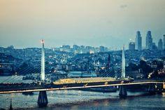 Halic metro geçiş köprüsü