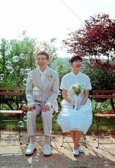 [KN웨딩] 봉태규 웨딩 사진 엿보기
