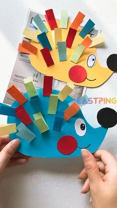 Thanksgiving Crafts For Toddlers, Halloween Crafts For Toddlers, Animal Crafts For Kids, Paper Crafts For Kids, Craft Activities For Kids, Toddler Crafts, Preschool Crafts, Thanksgiving Decorations, Toddler Art Projects