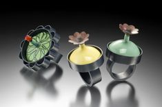 """Lauren Schlossberg's work is """"Influenced by the natural world"""". And what a wonderful world it is! Smithsonian Craft2Wear, Oct 1-3, 2015, Washington, DC. http://swc.si.edu/craft2wear"""