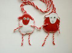 Martenizi Felt Kids, Projects To Try, Diy Crafts, Christmas Ornaments, Holiday Decor, Crochet, Diy Ideas, Home Decor, Events