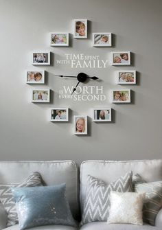 Find out how to create your own photo frame clock. Yes, the clock really works! Buy your own clock at http://www.ohmyword.us/clocks Time Spent with Family is Worth Every Second. #OhMyWord