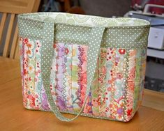 Grand Sewing Embroidery Designs At Home Ideas. Beauteous Finished Sewing Embroidery Designs At Home Ideas. Quilted Tote Bags, Patchwork Bags, Crazy Patchwork, Japanese Embroidery, Japanese Fabric, Bag Quilt, Bag Patterns To Sew, Patchwork Patterns, Tote Pattern