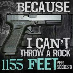 90 Miles From Tyranny : Because I Can't Throw A Rock At 1155 Feet Per Second...