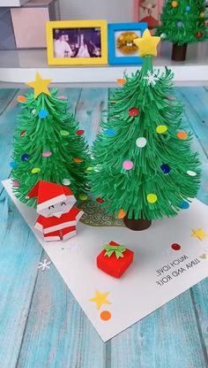 Diy Crafts For Gifts, Paper Crafts For Kids, Christmas Crafts For Kids, Christmas Projects, Preschool Crafts, Holiday Crafts, Fun Crafts, Christmas Decorations, Christmas Ornaments