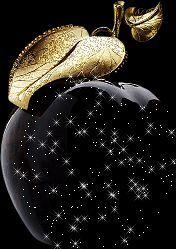 Very beautiful gif Purple Gold, Black Gold, Parfum Chloe, Black Strawberry, Glitter Gif, Gold Glitter, Or Noir, Glass Paperweights, Cellphone Wallpaper