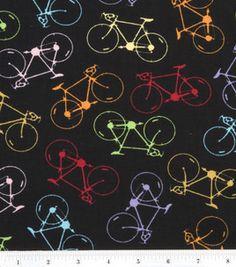 black bicycles