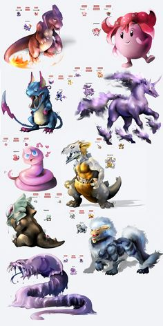 Pokemon hibridos