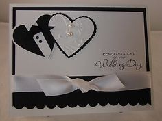 """Wedding Day"" Handmade Card"