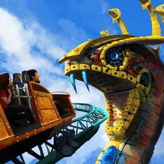 Busch Gardens Tampa Announces Unique Cobra Coaster Ride For 2016 - Dis411