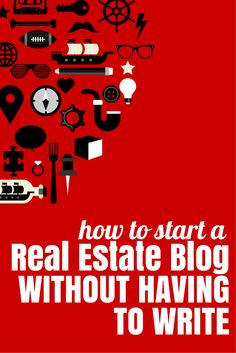 Want to start a blog but intimidated by all the writing? Here's a way to start and get all the leads that blogging has to offer WITHOUT doing the writing.  Click to see the video tutorial. #marketing #realestate