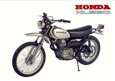 1972 HONDA XL250 Motosport (Rickster G) Tags: pictures classic vintage honda ads photo flyer image photos picture motorcycles literature oldschool sl trail photographs 350 photograph motorcycle 70s dirtbike collectible sales brochure rare xl 250 thumper motorsport enduro dealer 125 twinshock vjm vinduro