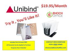 UniBinder 7.1 helps Small Businesses create Professional Proposals  #Unibind #Unibinder