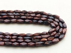 Red Tigers Eye Beads Natural Red Tigers Eye by gemsforjewels Red Tigers Eye, Tigers Eye Gemstone, Tiger Eye Beads, How To Make Necklaces, Natural Red, Shades Of Black, Gemstone Beads, Rose Quartz, Strands