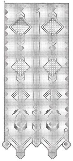 Kira scheme crochet: Scheme crochet no. 1685